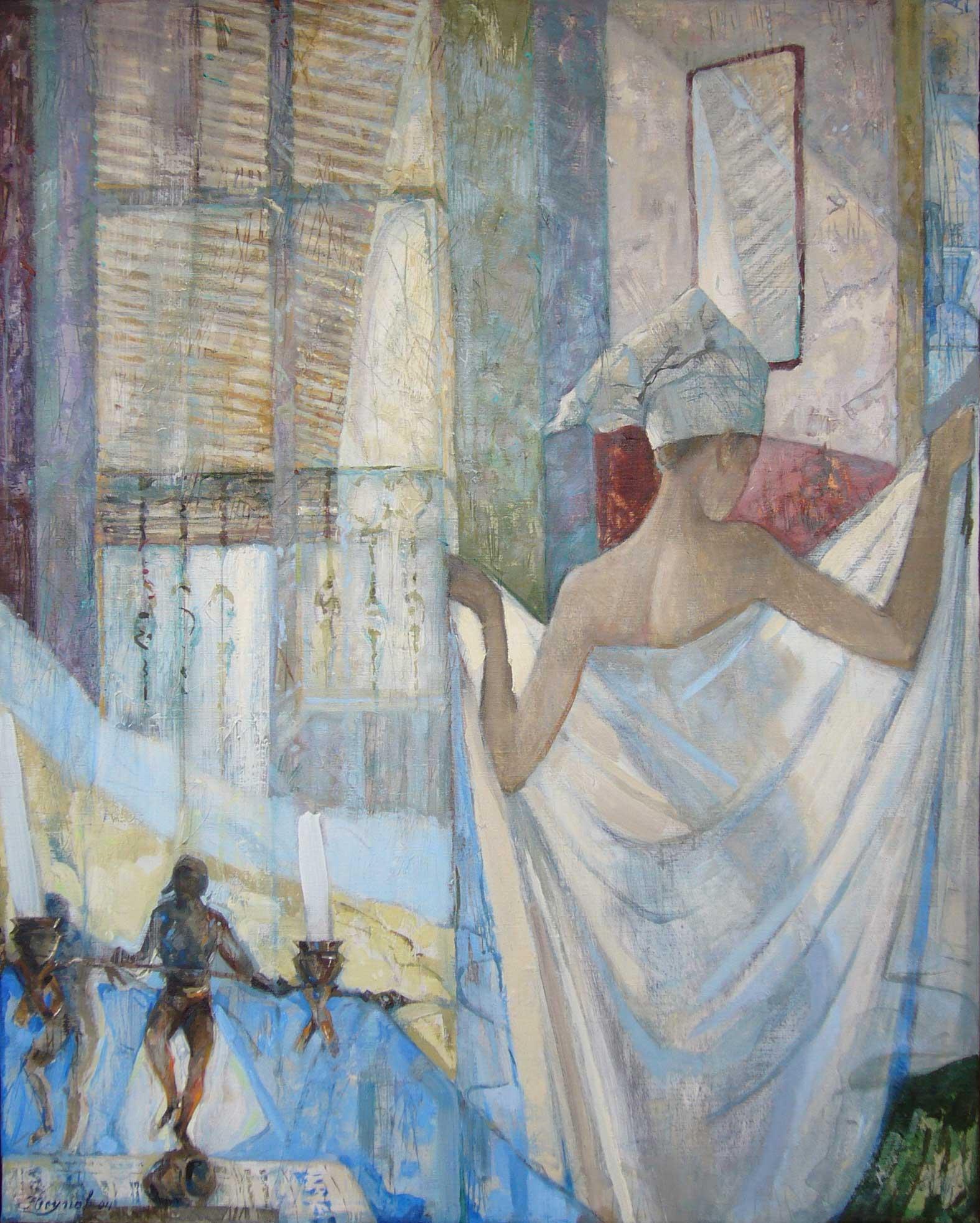 Room in Barcelona 2005 80x100