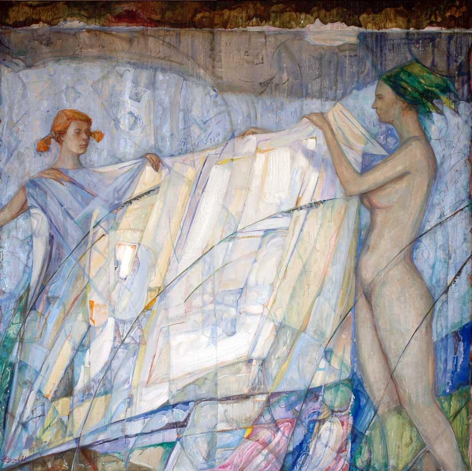 Bathers 2010 100x100