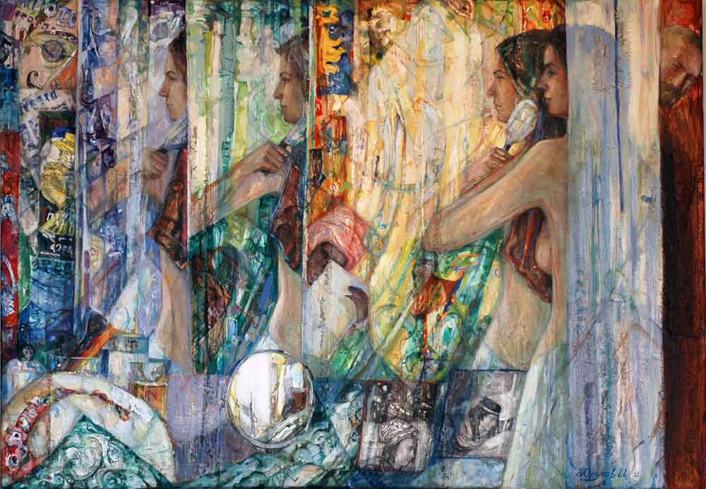 The Dressing Room 2011 100x80